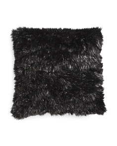 Made In USA 22x22 Faux Fur Pillow
