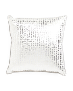 Made In USA 22x22 Printed Velvet Pillow