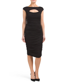 Made In USA Front Cut Out Dress