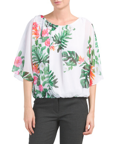 Havana Tropical Blouse