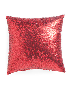 Made In USA 16x16 Sequin Pillow