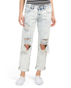 Acid Wash Last Boyfriend Jeans