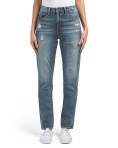 High Waisted Cougar Mother Jeans