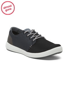 Lace Up Comfort Commuter Sneakers