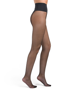 Made In USA Audrey Net Tights