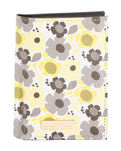 Floral Print RFID Passport Case