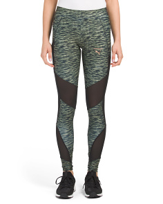 Velvet Rope Printed Leggings