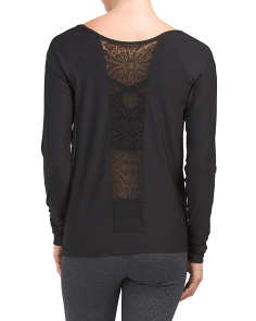 Lace Inset Top