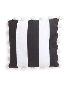 26x26 Large Stripe Pillow
