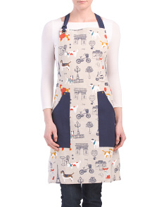 Made In India Paris Pet Apron