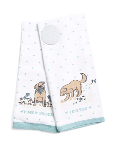 Made In India 2pk I Dig You Kitchen Towels