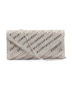 Diagonal Gem Clutch