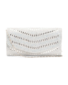 V Pattern Gem Clutch