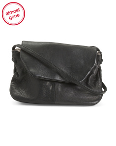 Leather Cecily Crossbody