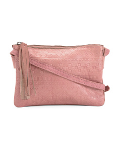 Cindy Leather Crossbody