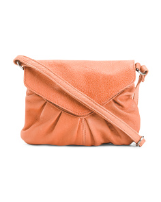 Elderflower Leather Crossbody