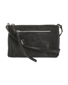 Vera Leather Crossbody