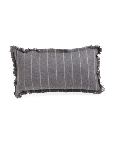 14x26 Flannel Wool Blend Pillow