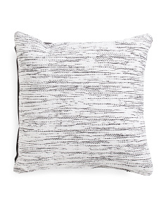 20x20 Lurex Textured Pillow
