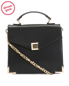 Chain Shoulder Strap Satchel