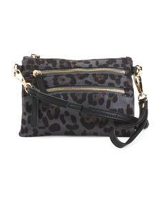 Tami Double Zip Pocket Crossbody