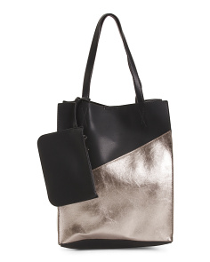 Zoey Tall Color Block Tote