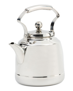 Stainless Steel Vintage Kettle