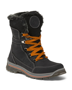 Made In Italy Mid Shaft Waterproof Boots