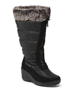 Waterproof Front Zip Snow Boots