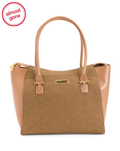 Zip Top Work Tote
