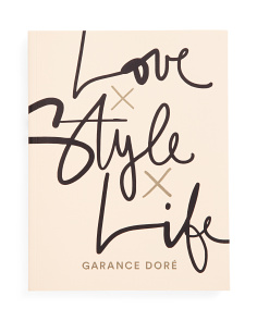 Love Style Life Lifestyle Book