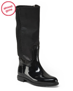 Wide Calf High Shaft Winter Boots