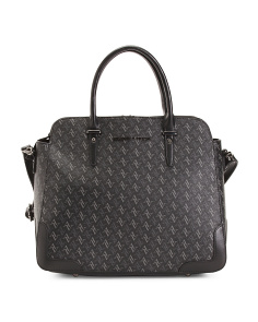 Signature Logo Satchel