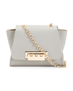 Leather Eartha Chain Crossbody