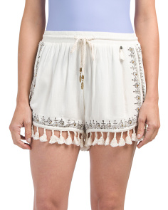 Tassel Cover-up Shorts