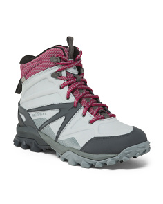 Waterproof And Insulated Leather Boots