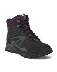 Waterproof And Insulated Boots With Arctic Grip