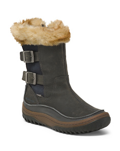Insulated Cold Weather Leather Boots