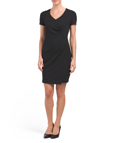 Rosie Stretch Crepe Dress