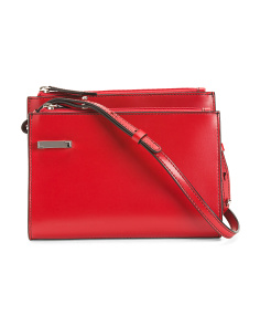 Leather Audrey Trisha  Crossbody