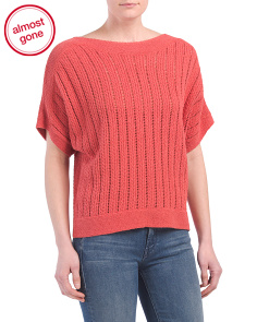 Cable Knit Poncho Sweater