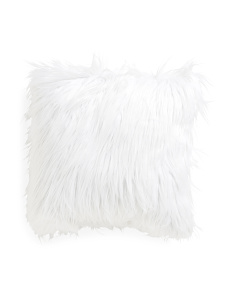 Made In USA 20x20 Faux Fur Pillow