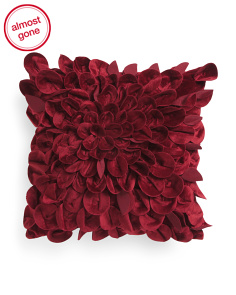 15x15 Soft Textured Petal Pillow