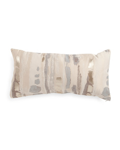 Made In USA 14x26 Metallic Pillow