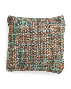 Made In India 18x18 Textured Pillow