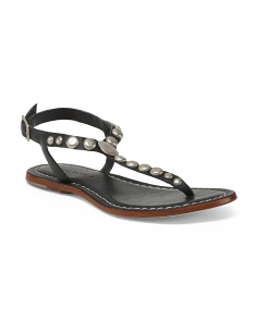 Made In Brazil Flat Leather Sandals