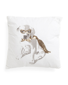 Made In India 18x18 Dog Pillow
