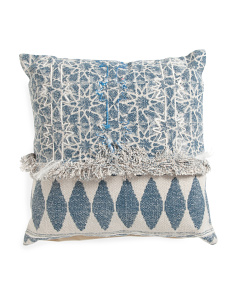 Made In India 20x20 Stonewash Pillow