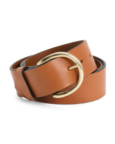 Made In Italy Leather Campus Belt