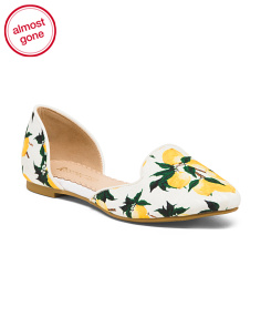 Two Piece Printed Flats